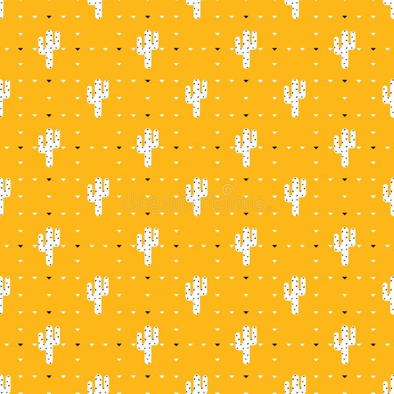 Kaktusowe ikony ilustracja wektor