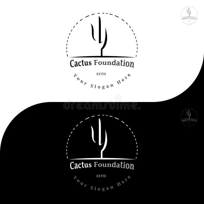 KAKTUSOWY FUNDACYJNY logo 5 obrazy royalty free