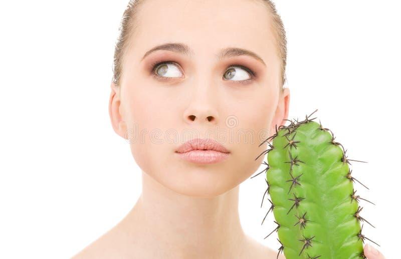 Kaktusspiele stockbild