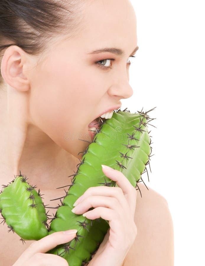 Kaktusspiele stockfoto