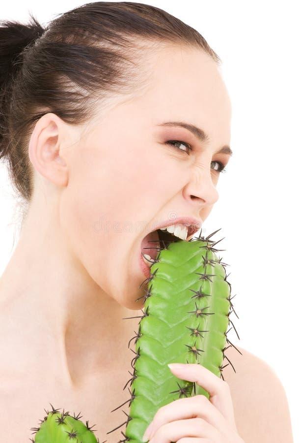 Kaktusspiele lizenzfreies stockbild