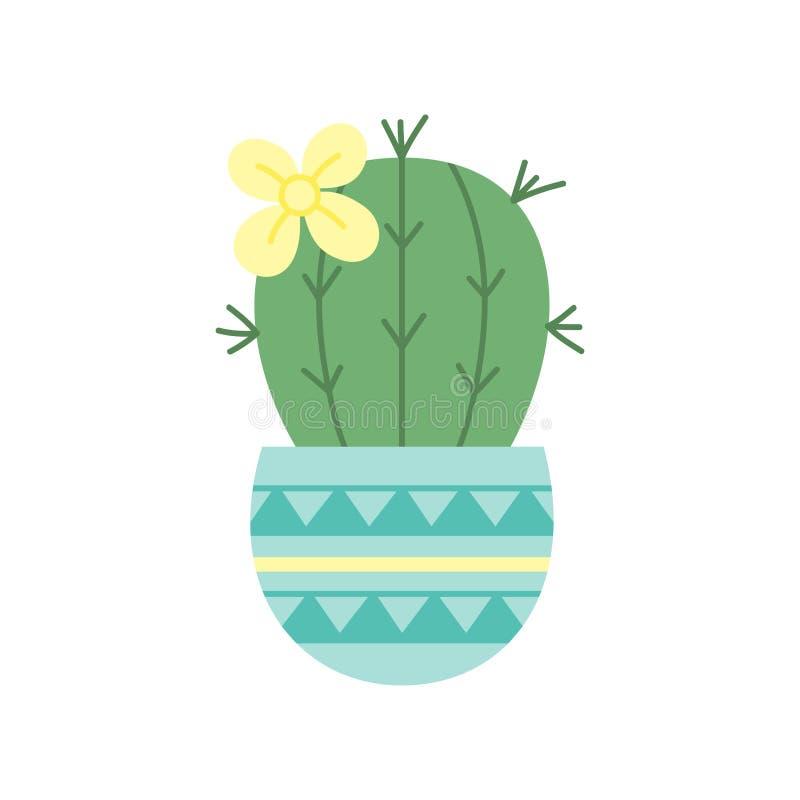 Kaktusvektor-Illustrationsikone lizenzfreie abbildung
