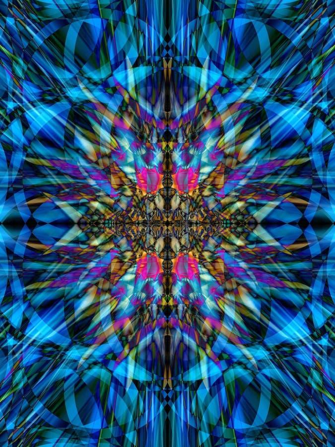 Kaléidoscope 5 illustration libre de droits