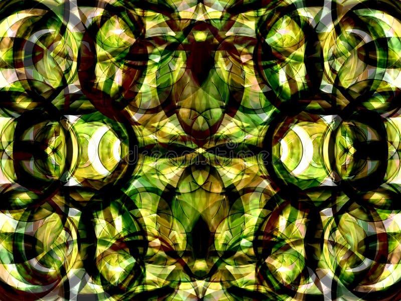Kaléidoscope 7 illustration de vecteur