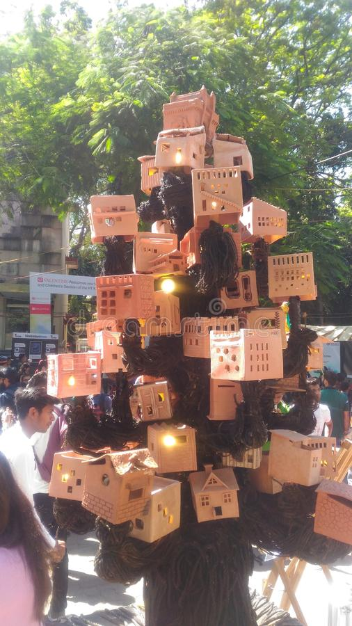 Kala ghoda art festival mumbai stock photos