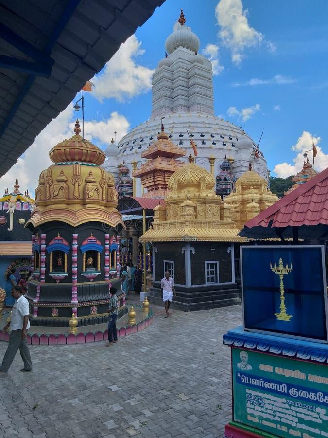 Kala maha bairavar tempel arkivbild