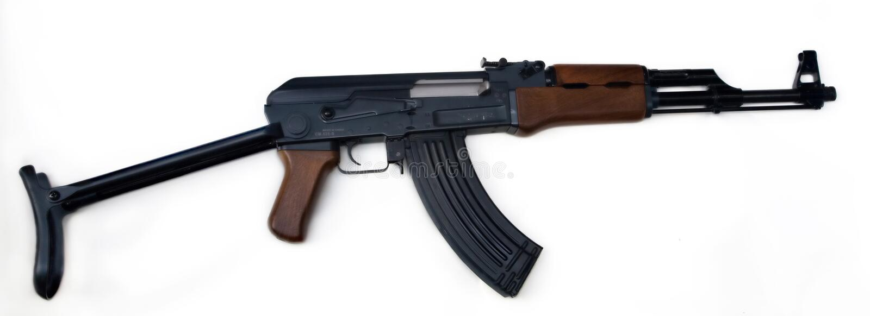 Kalachnikov AK47 images stock