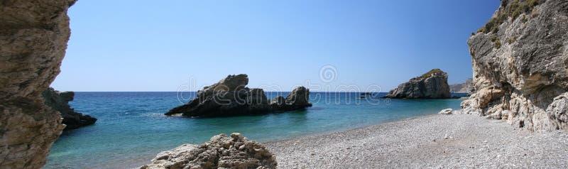 Kaladi Strand, Kythera, Griechenland lizenzfreie stockfotografie