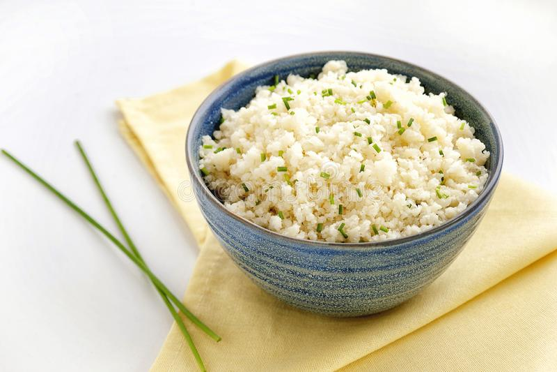 Kalafiorowy Rice zdjęcia royalty free