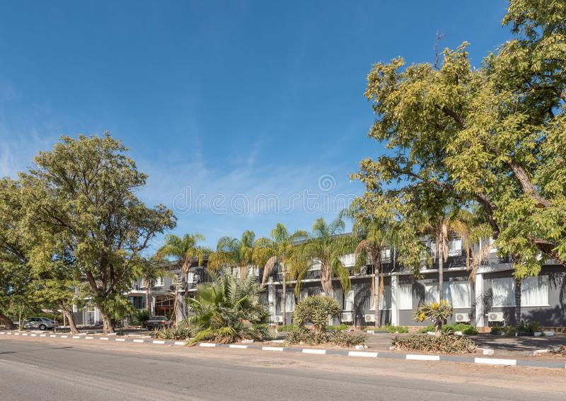 Kalahari bramy centrum konferencyjne w Kakamas i hotel obrazy royalty free