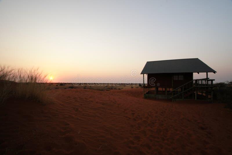Kalahari Lodge royalty free stock photography