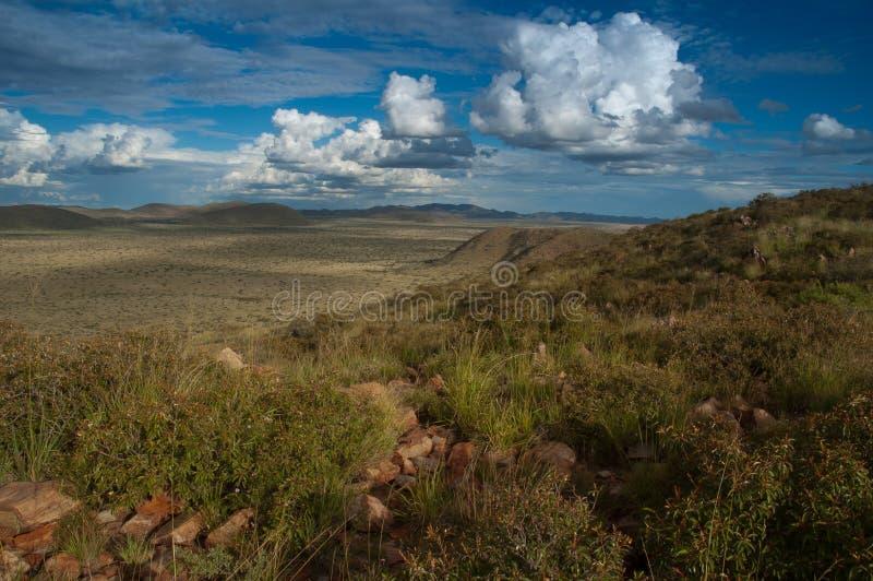 Kalahari Mountains And Valley Royalty Free Stock Images