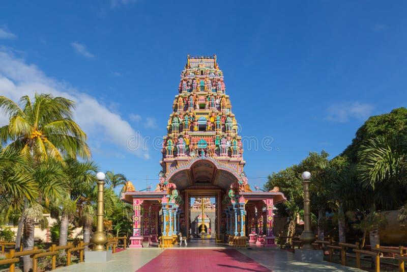 Kalaisson-Tempel-Hafen Louis Mauritius stockbild