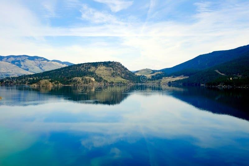 Kalamalka jezioro obrazy royalty free