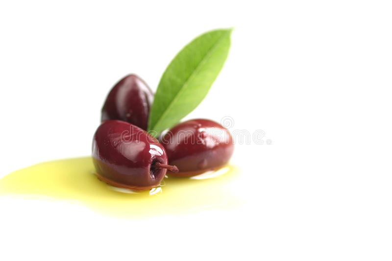 Kalamata olives stock image