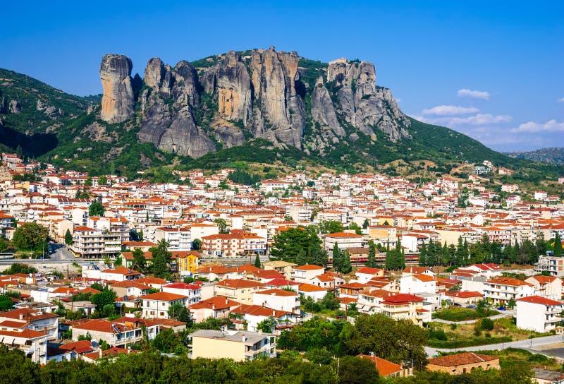 Kalambaka, Grécia imagens de stock