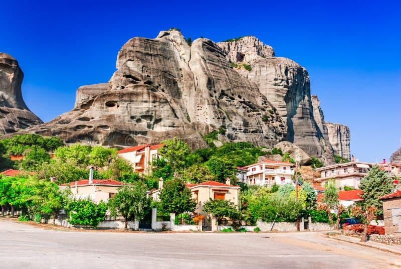 Kalambaka, Grecia immagini stock