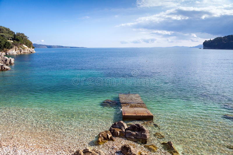 Download Kalami Bay view stock photo. Image of island, blue, green - 39507150