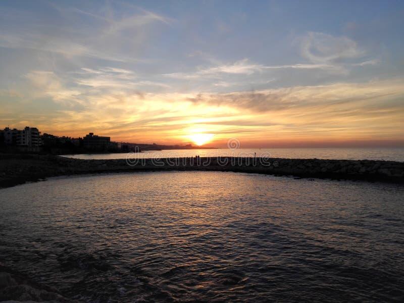 kalamoun_sunset images libres de droits