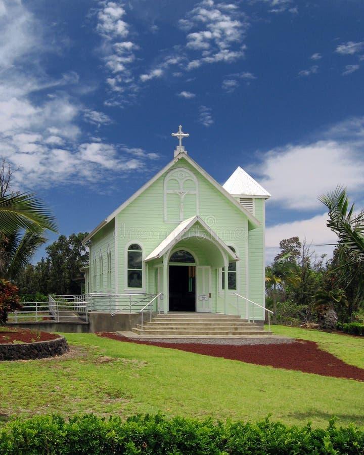 Kalapana Church Edifice stock photography