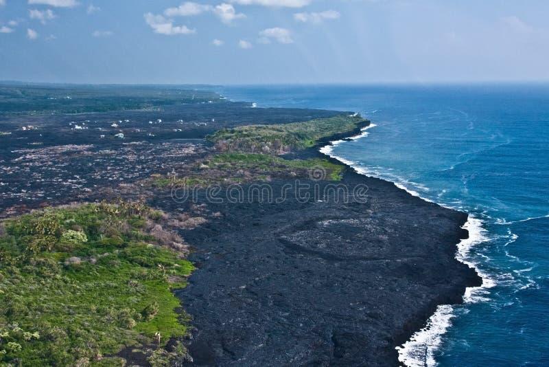 Kalapana Landscape royalty free stock photos
