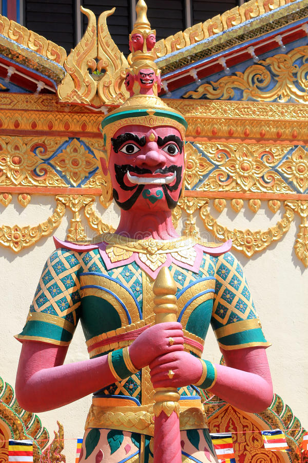 Kalaram del mang del chaya de Wat imagenes de archivo