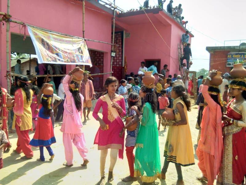 Kalas yatra. Jal kalas yatra royalty free stock photos