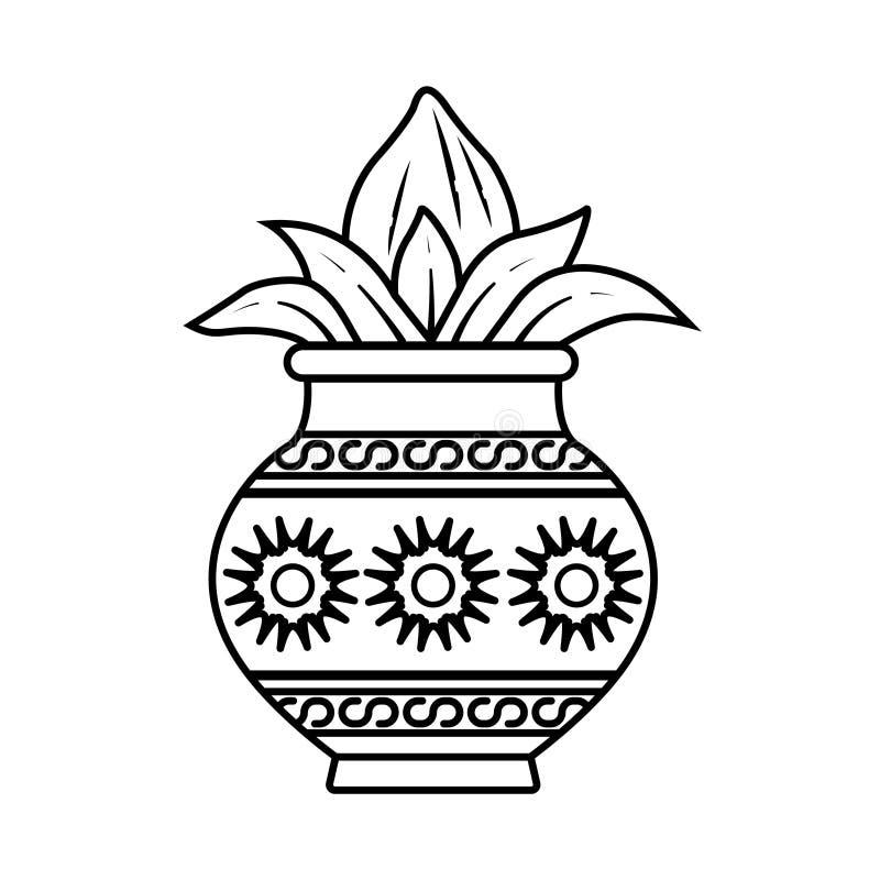 Kalash ilustración del vector