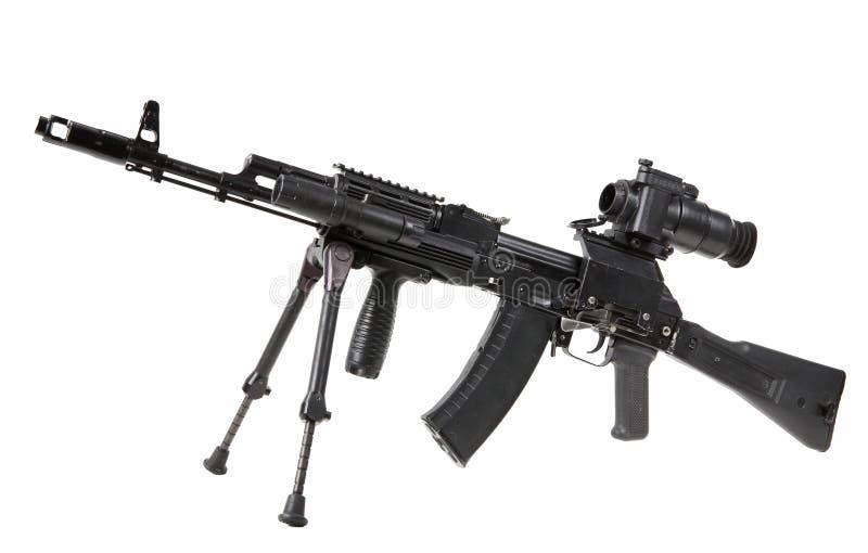 Kalashnikov della mitragliatrice fotografia stock libera da diritti