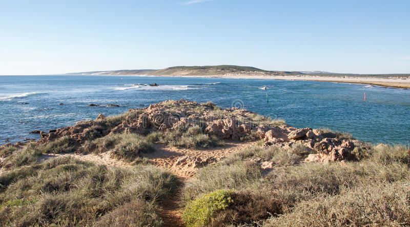 Kalbarri, Australie occidentale : Embouchure de Murchison photographie stock libre de droits