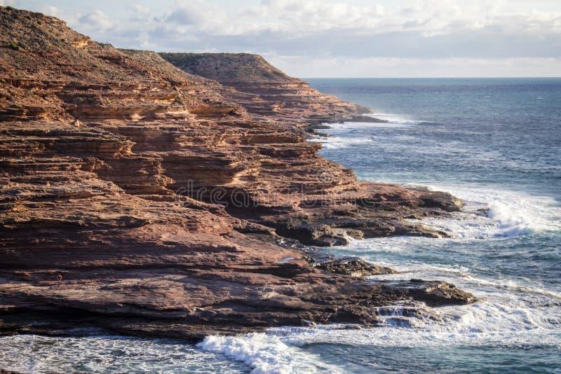 Kalbarri Cliffs royalty free stock photos