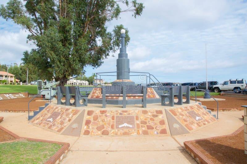 Kalbarri War Memorial stock photo