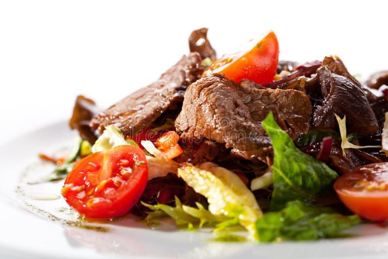 Kalbfleisch-Salat lizenzfreies stockbild