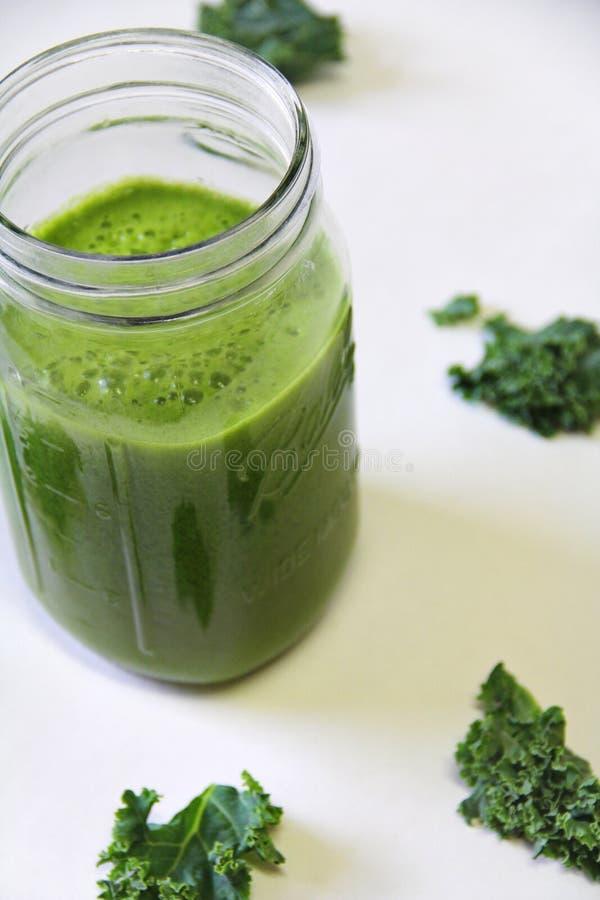 Free Kale Juice Vertical Royalty Free Stock Photos - 42217688