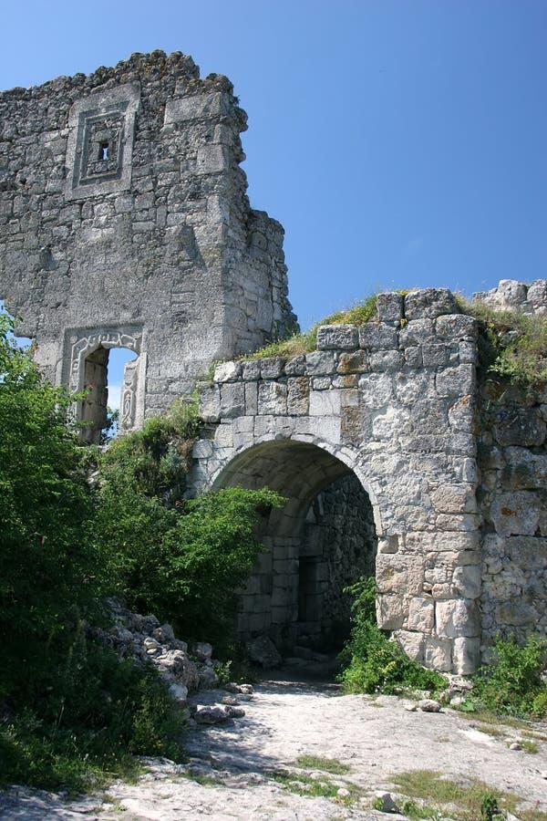Download Kale mangup ruiny zdjęcie stock. Obraz złożonej z natura - 13334274