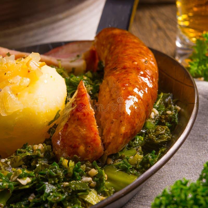 Kale ou couve galega foto de stock royalty free