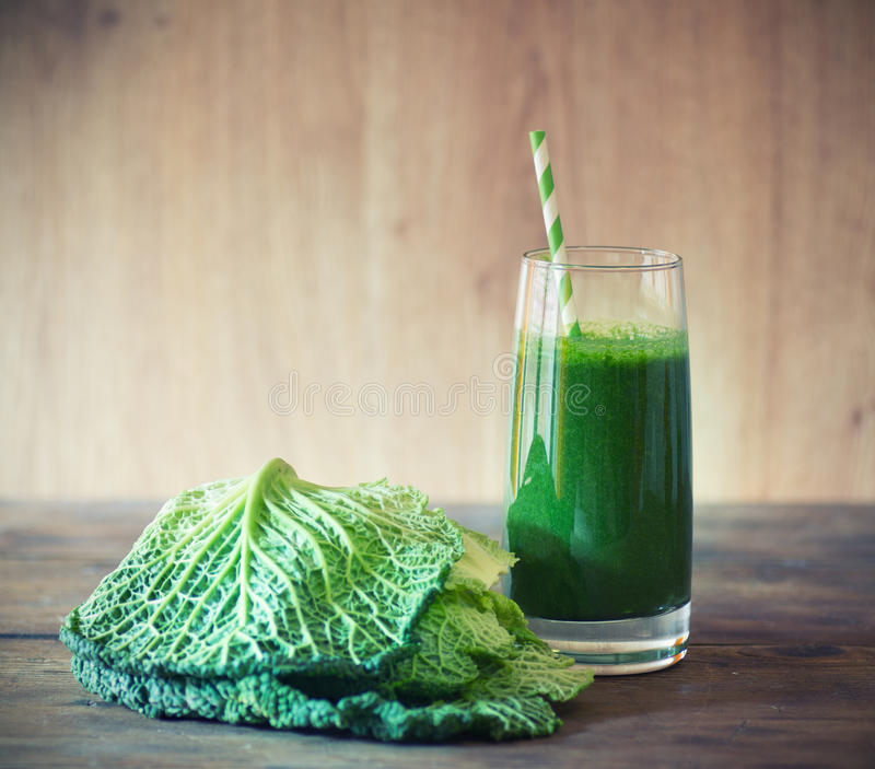 Kale smoothie stock images