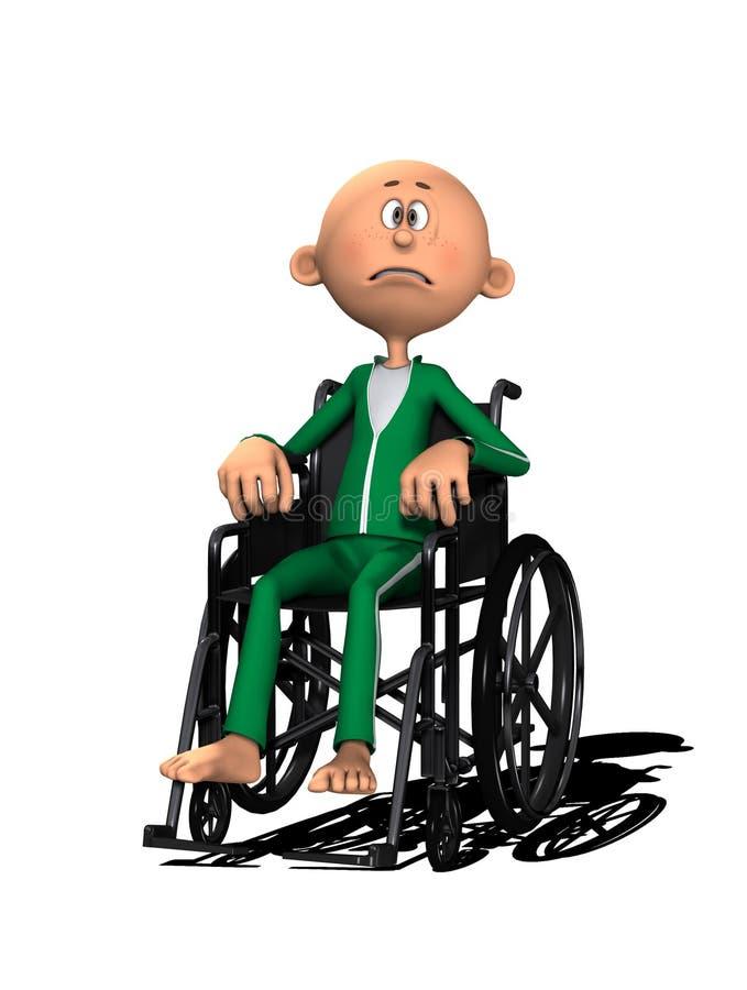 Download Kalectwo ilustracji. Obraz złożonej z niepełnosprawny - 20124273