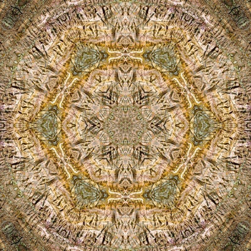 kaleidoscope вытравливания соплеменный иллюстрация штока