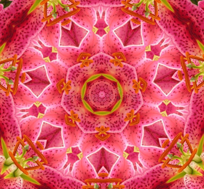kaleidoscope цвета круга иллюстрация штока