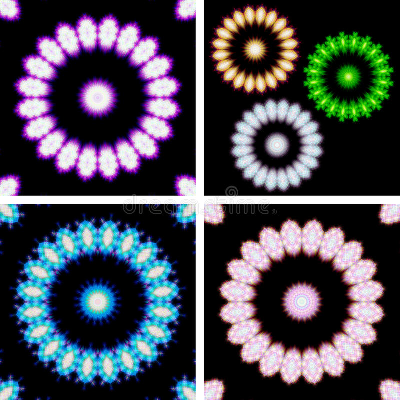 Download Kaleidoscope stock illustration. Image of decorative - 22559428