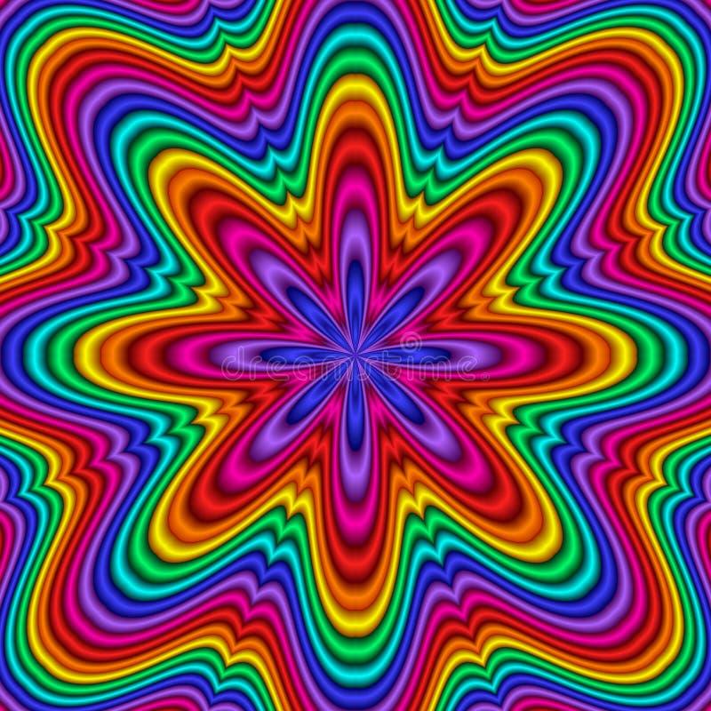 Kaleidoscope royalty free illustration