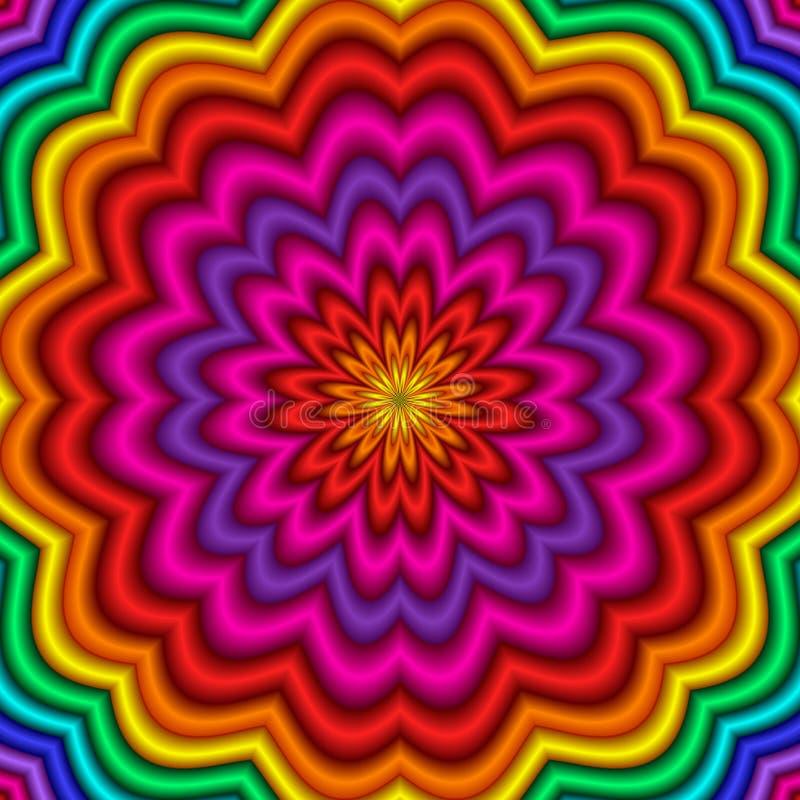 Kaleidoscope vector illustration