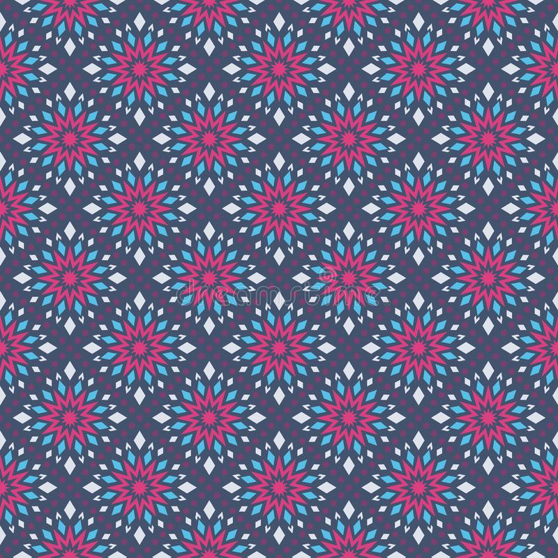 Kaleidoscope of color pattern royalty free stock photography