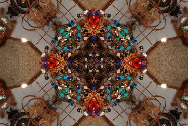 kaleidoscope crayon стоковое изображение