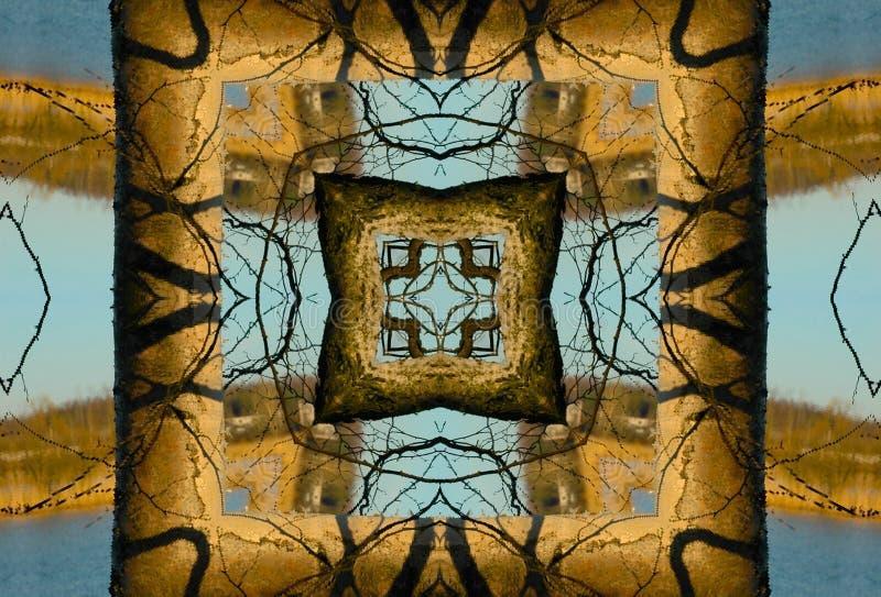 kaleidoscope crayon стоковые фото