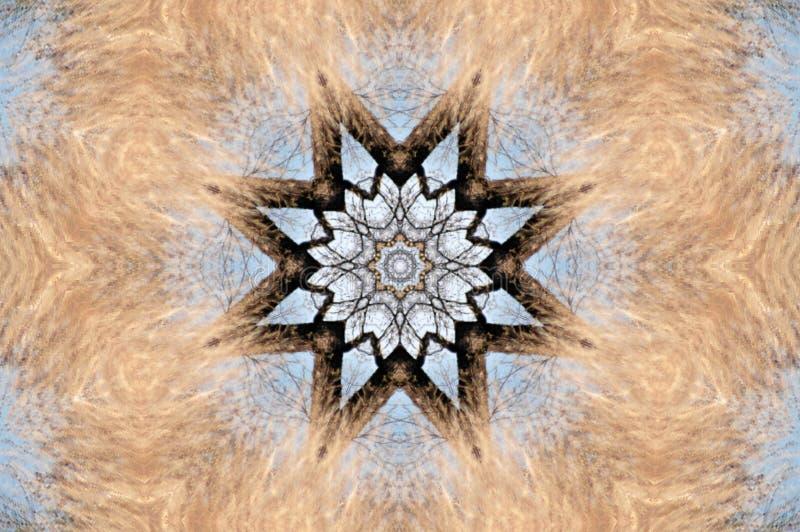 kaleidoscope crayon бесплатная иллюстрация