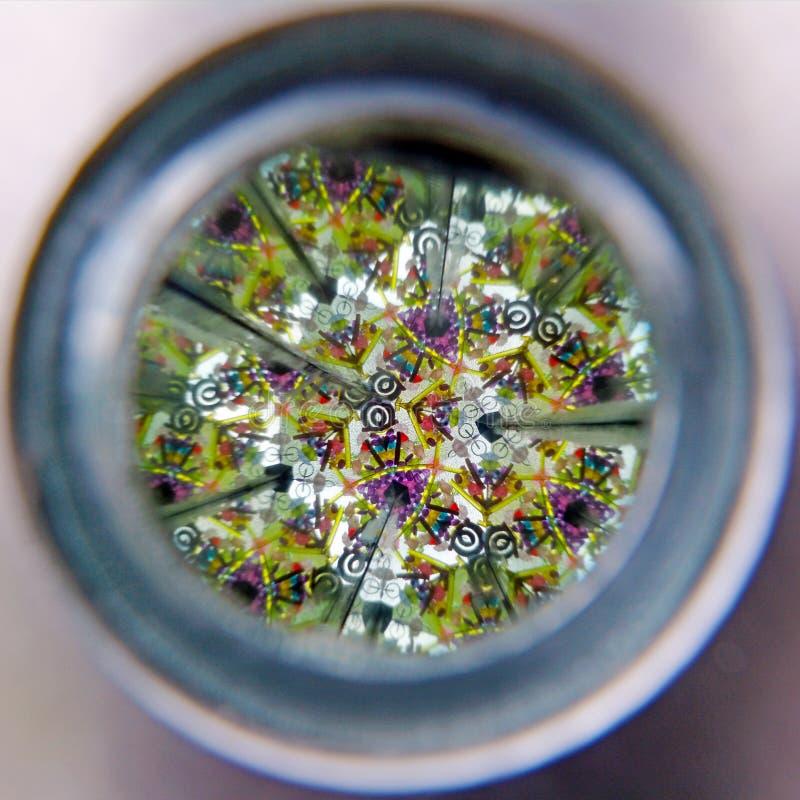 Download Kaleidoscope cylinder tube stock photo. Image of mirrors - 65151784