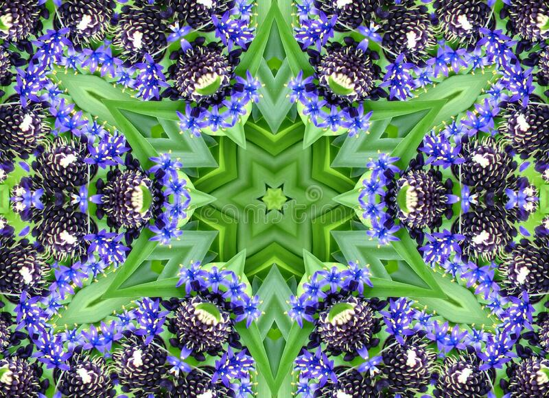 kaleidoscope design 36 stock photo