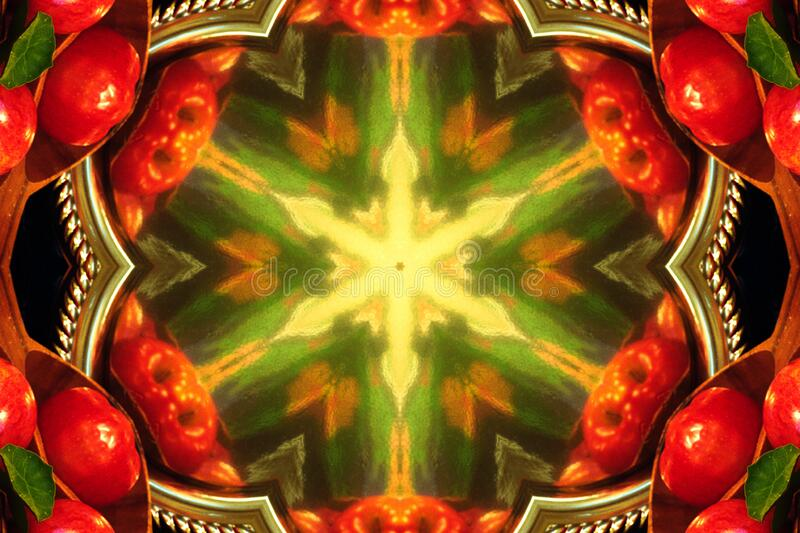 kaleidoscope design 25 royalty free stock image
